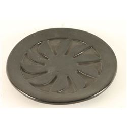 Santa Clara Blackware Plate