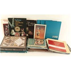 Lot of Native American Arts Books