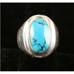Man's Turquoise Ring