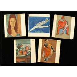 Set of 5 Art Related Books