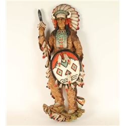 Indian Chief Wall Hanging