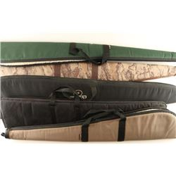 Lot of 5 Padded Soft Cases for Rifles