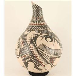 Mata Ortiz Polychrome Vase