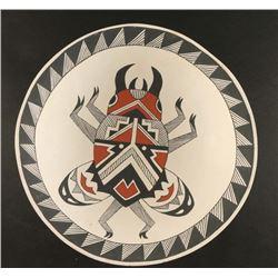 Vintage Acoma Beetle Bowl