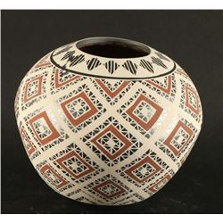 Polychrome Mata Ortiz Eye Dazzler Pot