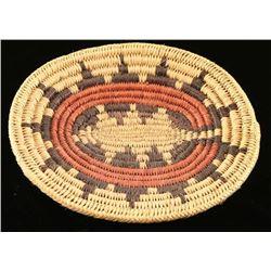 Navajo Sunburst Basket