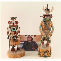 Lot of 2 Hopi Kachinas