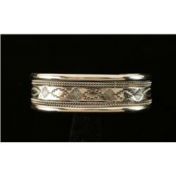 Native American Sterling Silver Cuff