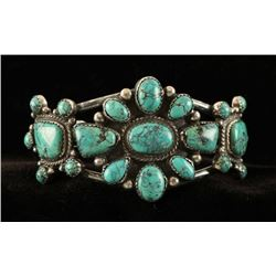 Native American Cluster Cuff Bracelet