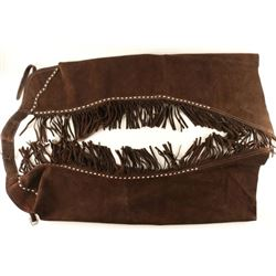 Pair of Brown Suede Show Chaps