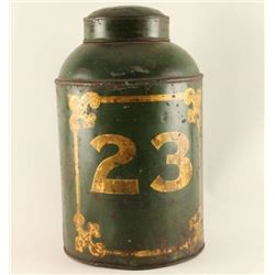 Large Tea Canister