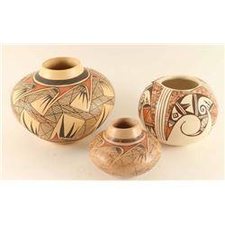 Lot of 3 Pueblo Pots