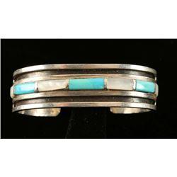 Old Pawn Native American Cuff Bracelet