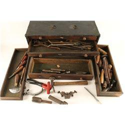 Vintage Saddle Maker's Box