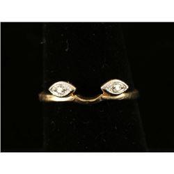 Diamond & Gold Ring Guard