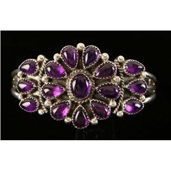 Amethyst Old Style Pawn Bracelet