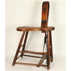 Vintage Saddle Maker's Vise