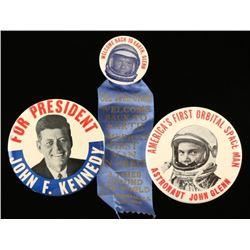 Vintage Campaign Button Collection