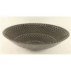 Beautiful Blackware Bowl