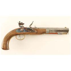 Custom Flintlock Pistol .42 Cal NVSN