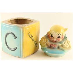 American Bisque Vintage Cookie Jar