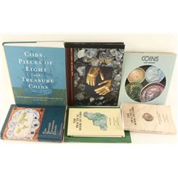 Lot of 7 Coin Books