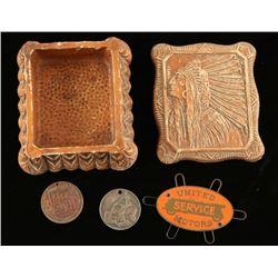 Jewelry Box with Trinkets