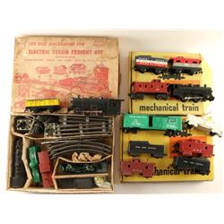Train Collection by Marx & Allstate