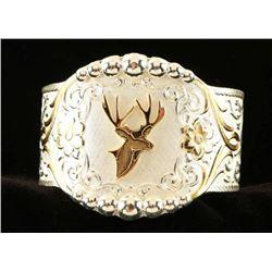 Montana Sterling Silver & Gold Cuff Bracelet