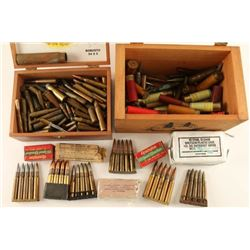 Lot of Misc. Ammo in Cigar Box