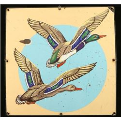 Vintage Enameled Sign
