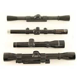 Lot of 4 Scopes
