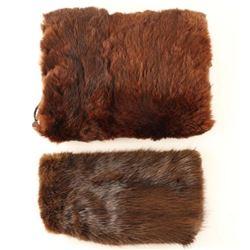 Beaver Fur Hat & Hand Muff