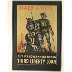 U.S. Government Bonds Poster