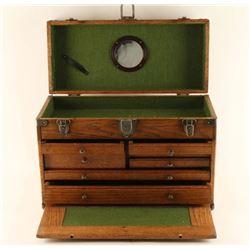 Large Oak Jewelry box