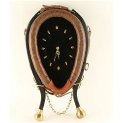 Western Horse Collar Clock