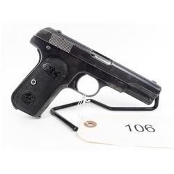 PROHIBITED U.S. OK. Old Colt 32 Automatic