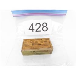Collectible Winchester .32 Auto Ammo