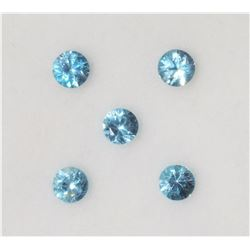 $200  Genuine Blue Zircon