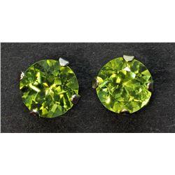 $150 Gen Peridot Earrings