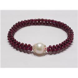 $500 St. Sil Garnet FW Pearl
