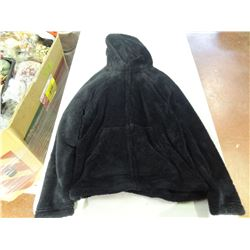 New Black Size Large Fuzzy Hoodie