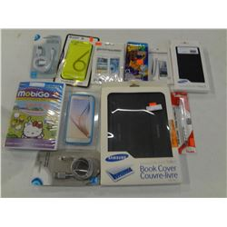2 Iphone Cases, @ micro USB Cables Plus MORE