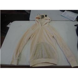 New Size XS White Bear Hoodie