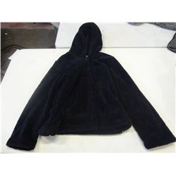 New Size Small Blue Fuzzy Hoodie