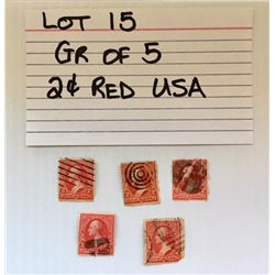 STAMPS, USA, 2 CENTS