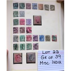 STAMPS, INDIA