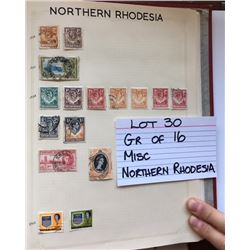 STAMPS, NORTHERN RHODESIA