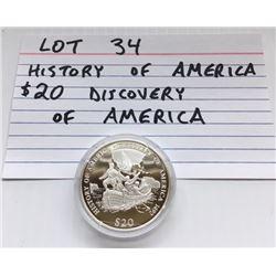 COIN, USA, $20