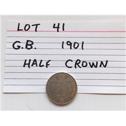 COIN, GB, 1901, HALF CROWN